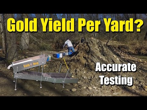 Testing Dirt for Placer Gold - How to Find Placer Gold