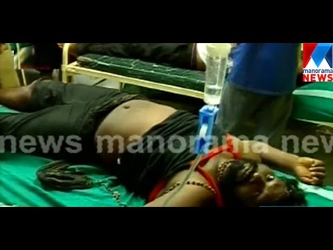 Stampede at Sabarimala : 25 injured  | Manorama News