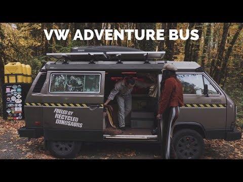 Van Tour of a VW Adventure Bus   Vanlife America
