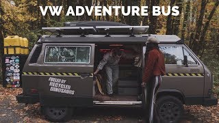 VW Bus Camper Tour | Westy Vanlife Couple