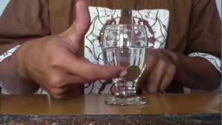 koin menembus gelas kaca (solusi)