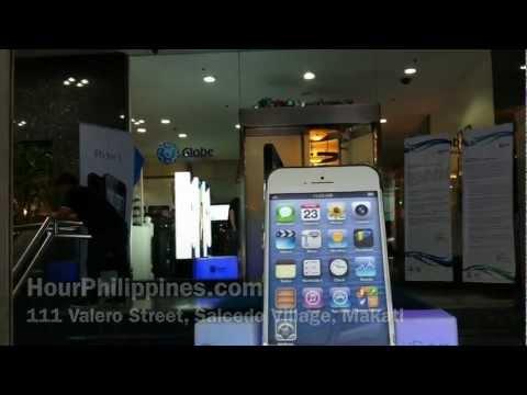 Globe Business Iphone 5 Launch Manila Philippines December 14 2012 by HourPhilippines.com