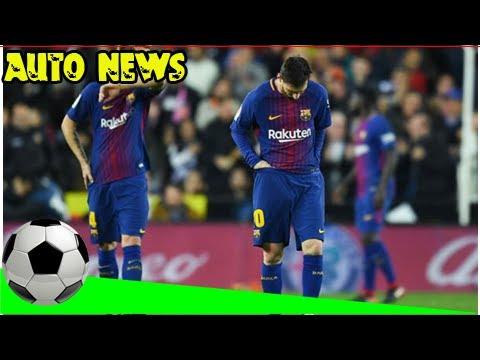 [Auto News] - Valencia 1 barcelona 1: lionel messi denied ghost goal but jordi alba strike earns po
