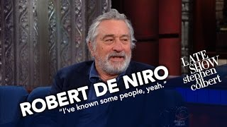 Robert De Niro Luxuriates In Doing Nothing With Stephen