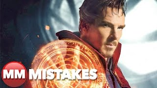 10 Doctor Strange Movie Mistakes You Did't Notice | Dr. Strange Mistakes - Movie Mistakes