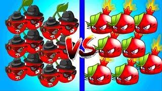 Plants vs Zombies 0 CHERRY BOMB VS BOMBEGRANATE