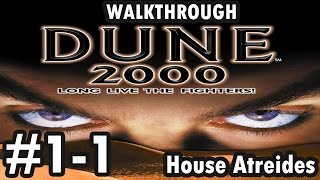 Dune 2000 - House Atreides - Mission 1 - Map 1 (Walkthrough)