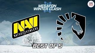 [DOTA 2] Natus Vincere VS Team Liquid (BO5) - MEGAFON Winter Clash Grand Final