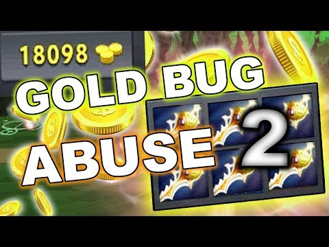 Dota 2 GOLD BUG ABUSE 7.10 patch - STILL NOT FIXED!
