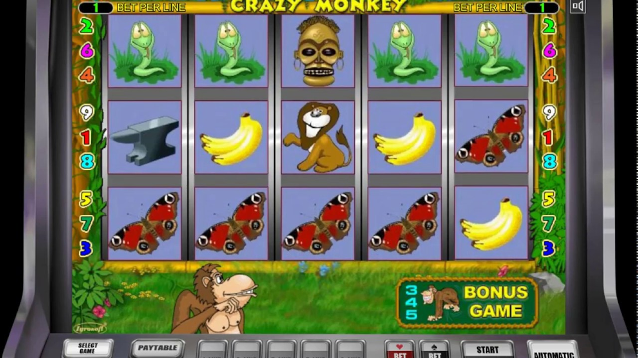 Игровые Автоматы Онлайн Вулкан Платинум | Играю в Crazy Monkey Казино Вулкан Платинум