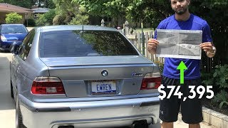 Here's Why My BMW E39 M5 Was Worth $74,395