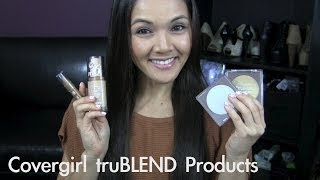 Covergirl TruBlend Foundation + Product Reviews & Tutorial Thumbnail