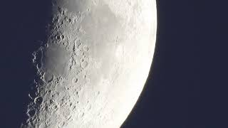 Nikon P1000 Moon, Jupiter, Saturn, Mars, Venus - 250x Optical Zoom Equivalent at 1080p HD Video