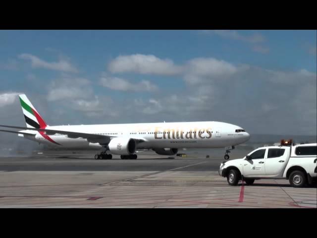 Emirates Boeing 777-300ER Adelaide Road Show 2012