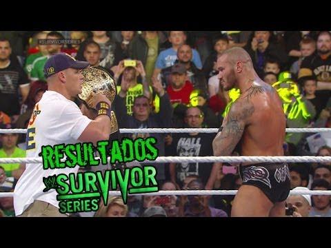 Resultados WWE Survivor Series 2013 Loquendo (SL3000)