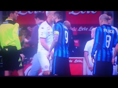MAXI LOPEZ IGNORE ICARDI   INTER VS TORINO