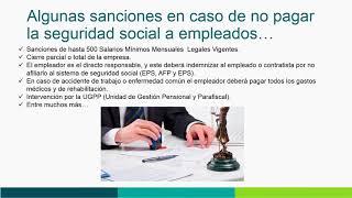 Que es la seguridad social en Colombia