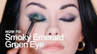 HOW TO: Smoky Emerald-Green Eye | MAC Cosmetics