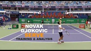Novak Djokovic Serve - Training & Analysis (TENFITMEN - Episode 106)