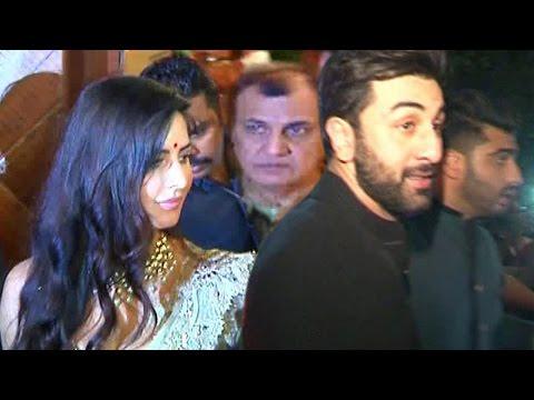 Ranbir Kapoor AVOIDS Ex Gf Katrina Kapoor at Big B's Diwali Party | SHOCKING VIDEO