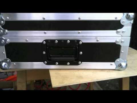 My dj case road case flight case custom made youtube for Homemade rack case