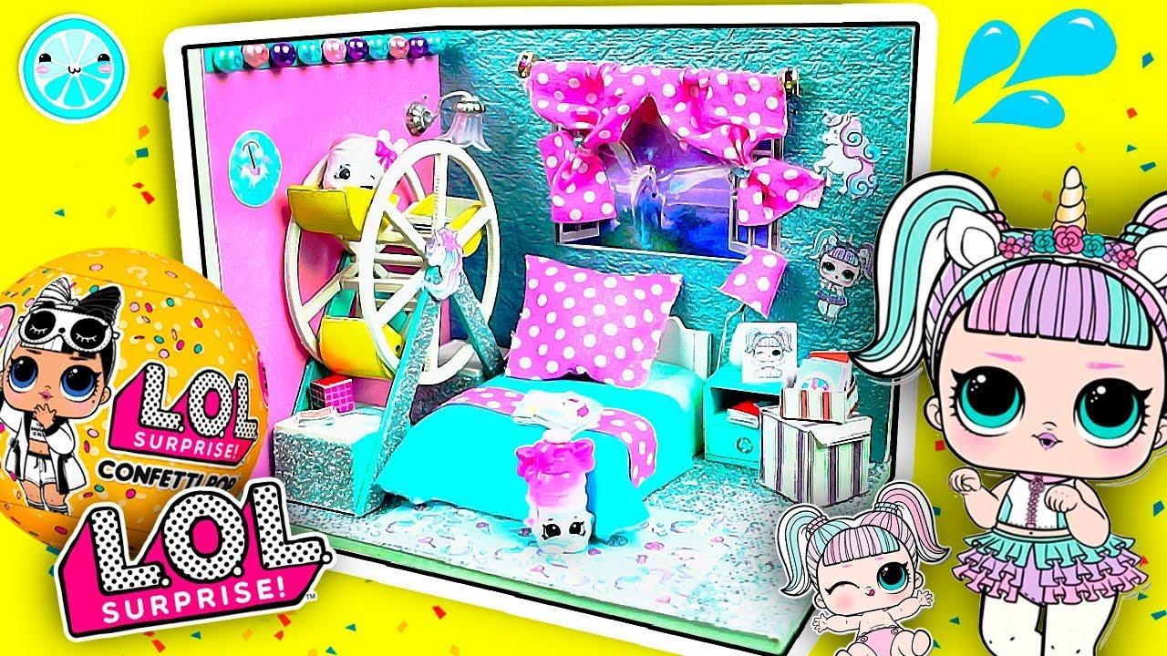 Diy Rooms For Lol Dolls Easy Craft Ideas