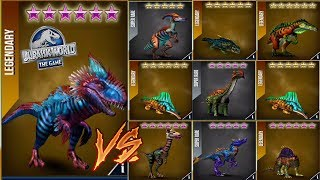 One VS Nine With Yudon - Jurassic World The Game