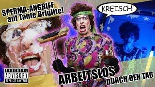 Arbeitslos durch den Tag: Sperma-Angriff auf Tante Brigitte!