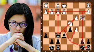 Amazing Ragozin Chess Game    Zhou Weiqi vs Yifan Hou    Chinese Championship 2010