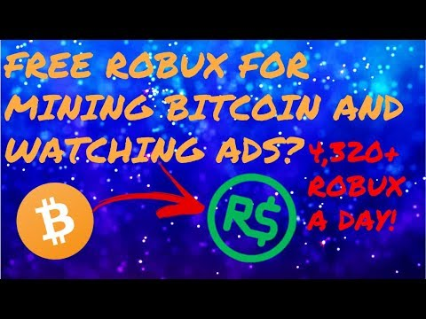 Get Free Robux Through Legal Bitcoin Mining And Watching Ads