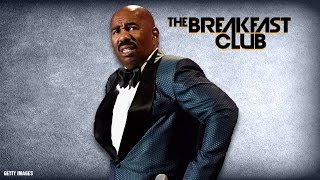 The Breakfast Club Discusses Steve Harvey's Shocking Letter To Staff: 'Do Not Approach Me'