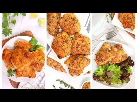 3 Budget Friendly Chicken Recipes | Quick + Easy Dinner Ideas