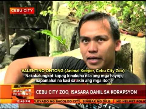 Cebu City zoo, isasara dahi