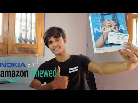 Nokia 8.1 renewed by amazon | Nokia 8.1 2gud | unboxing and full review |