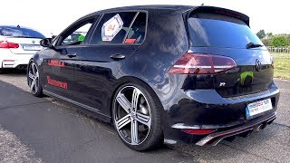 420HP Volkswagen Golf 7 R w/ LOUD LEVELLA Exhaust System!