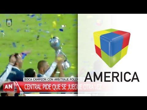 Rosario Central le pedirá a la AFA repetir la final con Boca