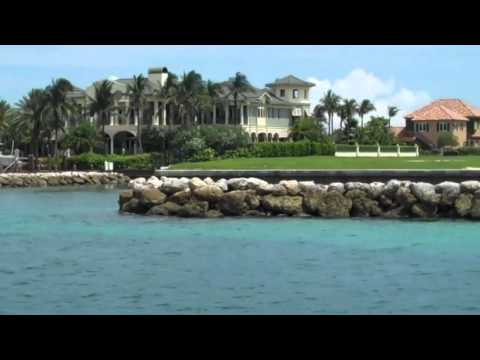 Homes of the Rich and Famous  Nassau, Bahamas