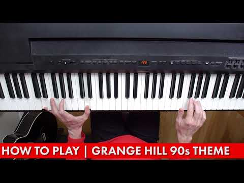 How To Play the Grange Hill 90s Theme on Piano