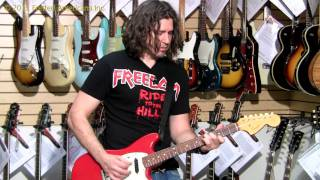 PHIL X Gets a little HONKY 1966 Fender Duosonic 01161.mov