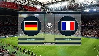 PES 2019 | Germany vs France | Full Match & Amazing Goals | Gameplay PC