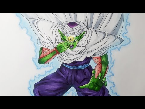 piccolo dbz how to draw