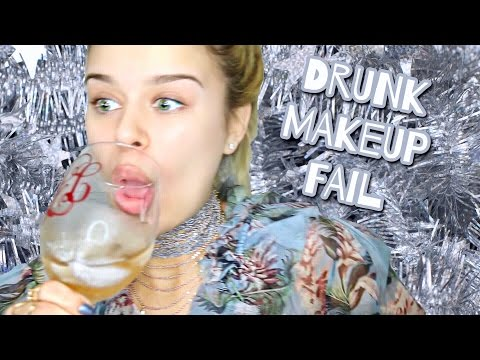 drunk (blacked out) makeup fail *rip*
