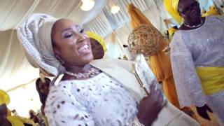 engagement ceremony between feyi kayode by klala films