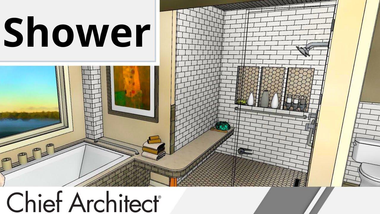 7 PARABOLA BATH Shower Niche, Shower Wrap-Around Bench - YouTube