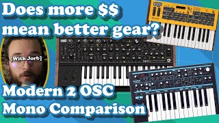 Do you Actually Get What You Pay For? // Sub37 v Bass Station 2 v Mopho
