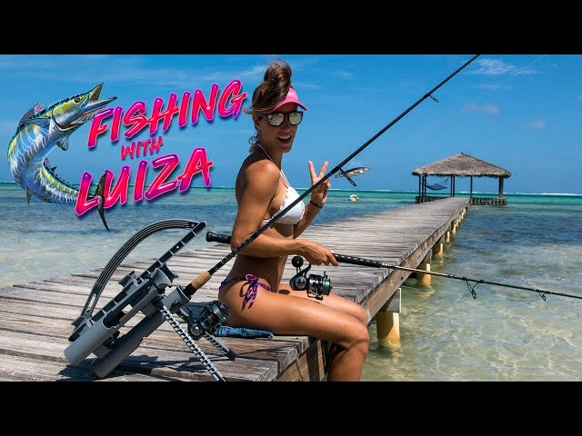 Fishing with LUIZA & Rod-Runners! Luiza Fishing with ROD-RUNNERS (Pro & Express)
