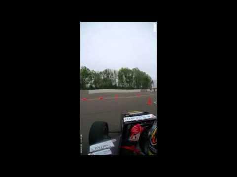 2013 FSAE at Michigan Endurace crash(MIP_Seoultech racing-korea)