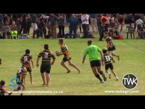 Junior School Rugby – 13 year old rugby prodigy wreaking havoc amongs opposition players !!
