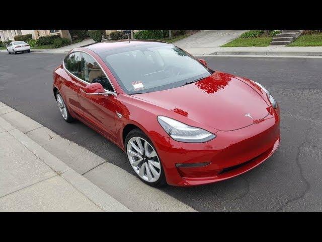 Tous les détails en français  sur la Tesla model 3 par Éléctron libre