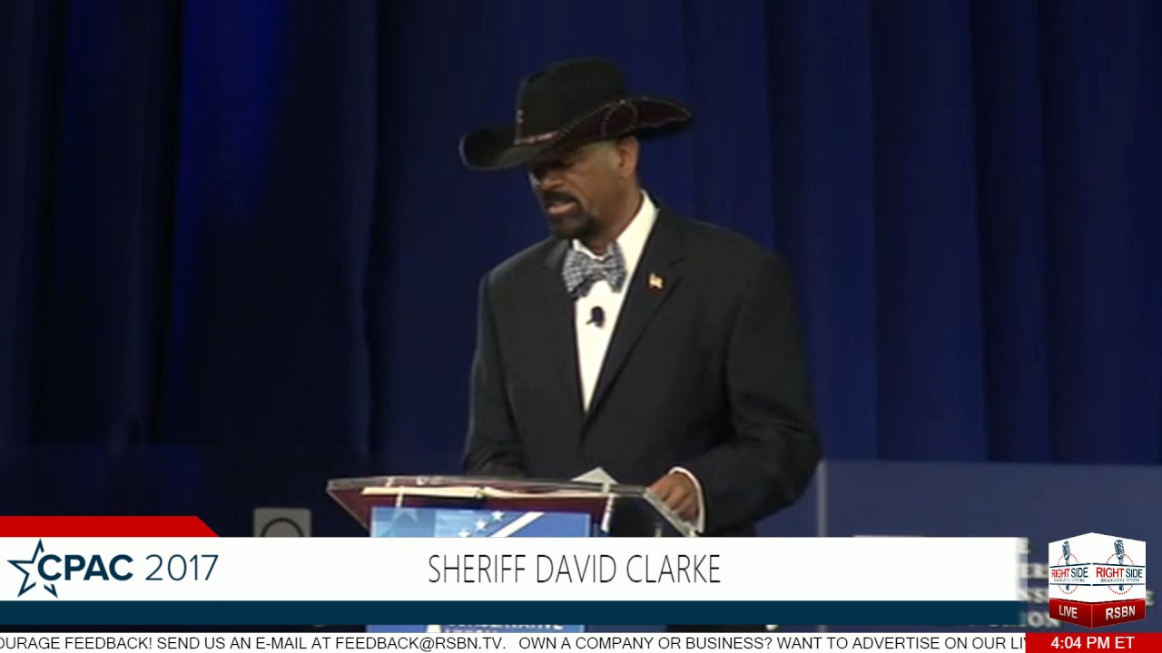 Sheriff David Clarke FULL SPEECH- CPAC 2017 - YouTube